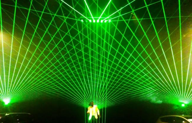 Laserorgel