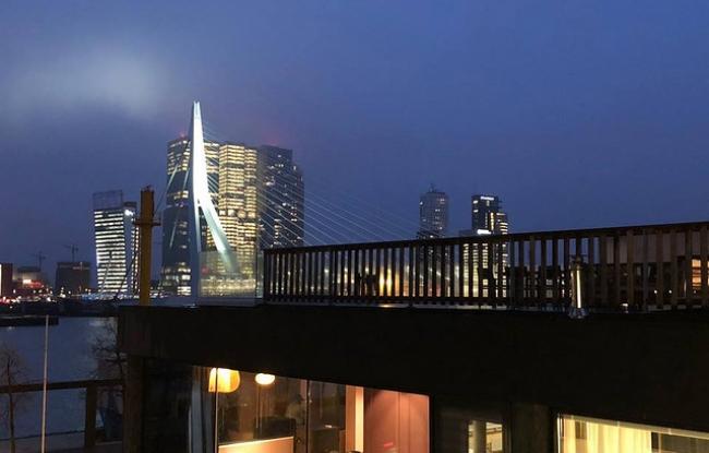 Vergaderlocatie in Rotterdam met uitzicht