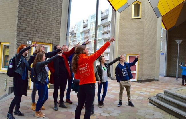 Bedrijfsuitje - Wandeling met gids in Rotterdam