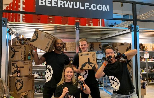 Beerwulf promo team op beurzen en festivals