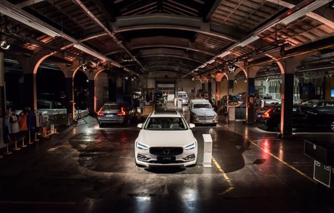 Volvo V90 belichting