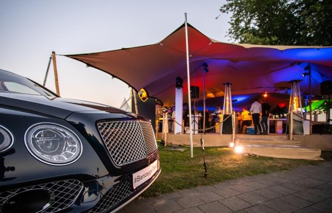 Licht en geluid voor Bentley Lamborghini, Audivio 2018