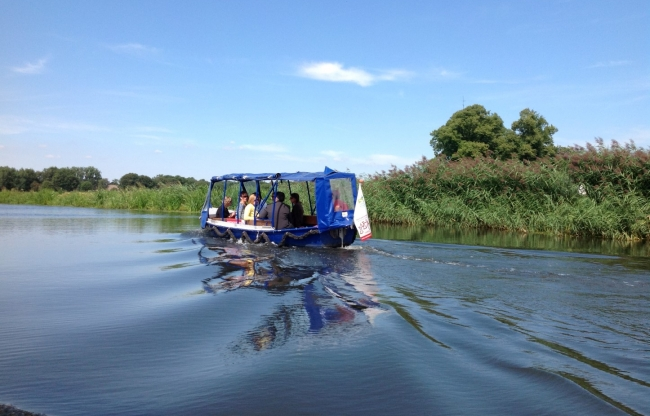 Teambuilding boot varen naar 's-Hertogenbosch
