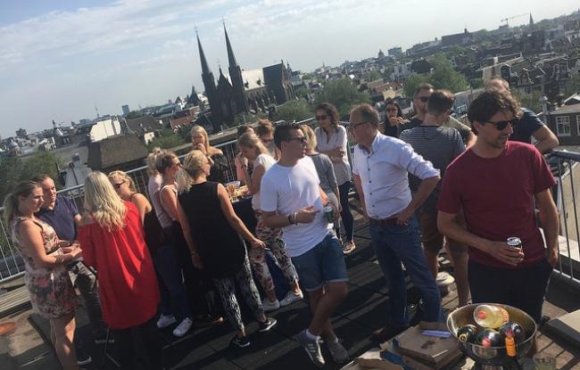 Vergaderlocatie Amsterdam met uitzicht