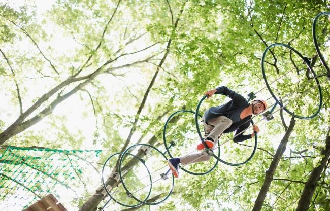 High Adventure Experience bij Center Parcs De Eemhof