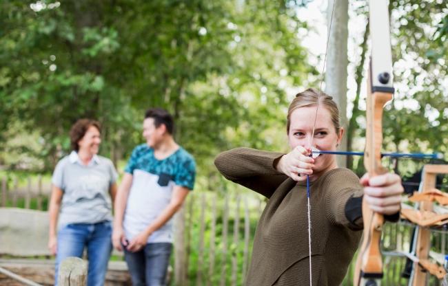 Boogschieten bij Center Parcs De Eemhof
