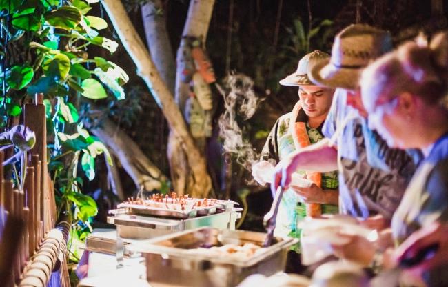 Diner locatie bij Jungle Dome Center Parcs Het Heijderbos