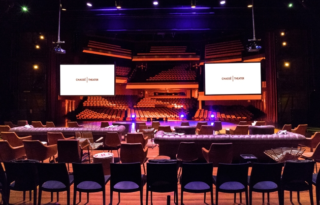 Chassé Theater: imposante eventlocatie in hartje Benelux