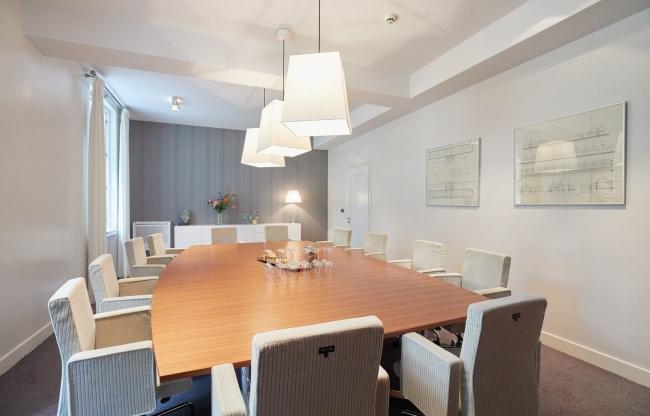 Heerenkamer - vergaderzaal Bouw & Infra Park Harderwijk