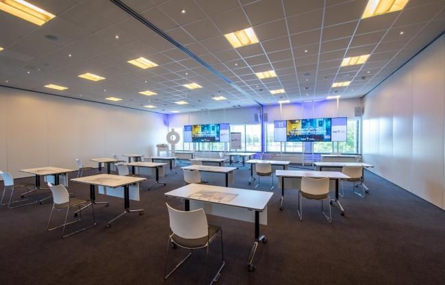 Onze 34 verschillende zalen zijn in te zetten als subsessieruimte of vergaderzaal