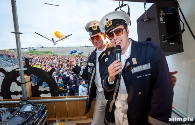 Concert at Sea - Captains at Sea (Concept/maatwerk)