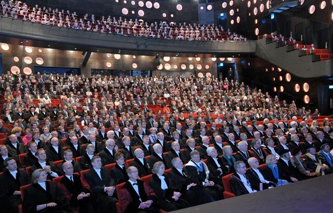 Congres in het Wilminktheater