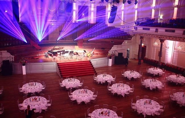 Gala avond in concertgebouw