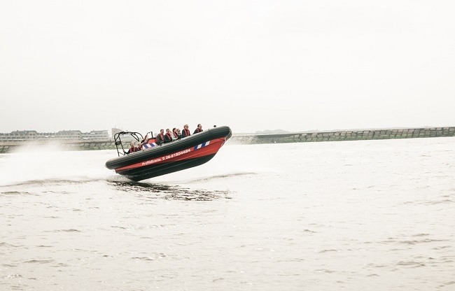 RIB boot Noordzee