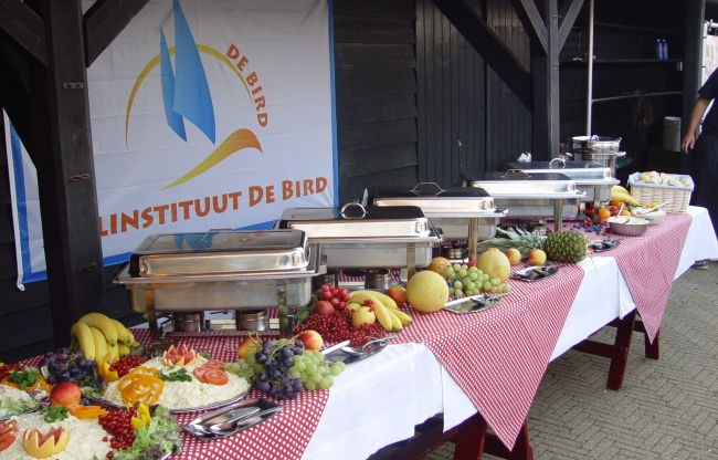 Buffet zeilschool De Bird