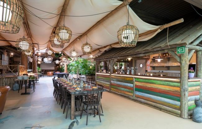 Cabana Café bij Center Parcs Les Ardennes