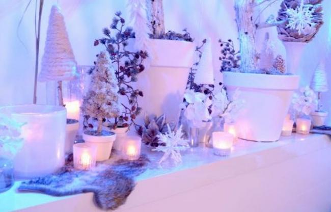 Winter wonder land kerst decoratie