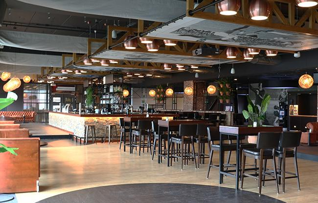 De Grolsch Veste transformeert TOS-lounge