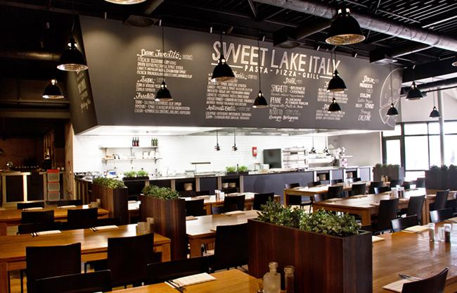 Restaurant Sweet Lake Italy
