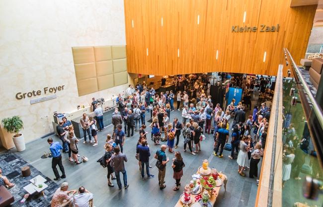 De gratis congres app van Philharmonie Haarlem in praktijk