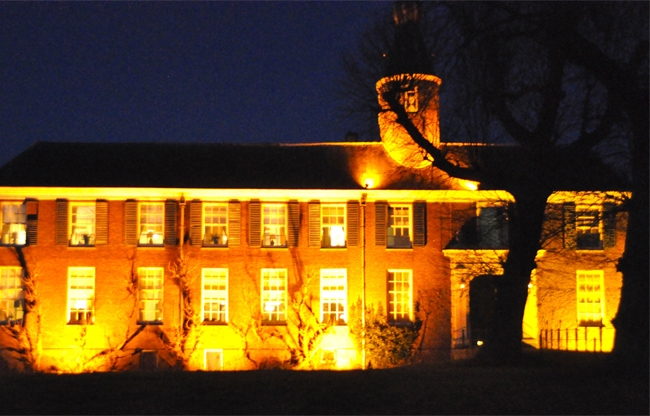 Chateau Marquette by night