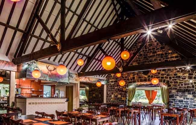 Art Deco restaurant Le Pavillon