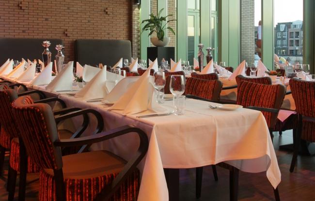Dineren, lunchen of een buffet - het is allemaal mogelijk