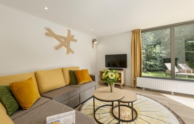 Vernieuwde VIP cottage bij Center Parcs De Eemhof