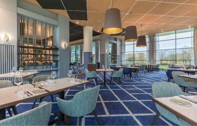 Fine dining in OTIUM Restaurant