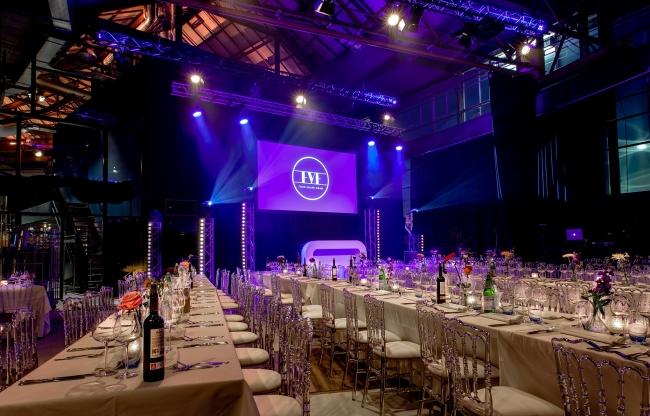 Award diner, private dinner EVE Tilburg
