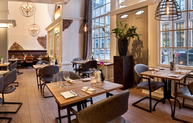 Het gezellige restaurant De Palmboom
