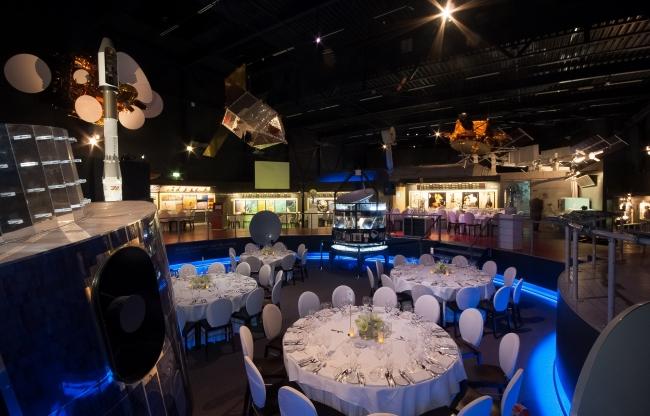 Space Expo, een bijzondere locatie voor evenementen en meetings