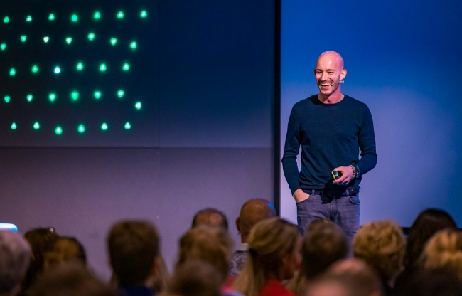 Keynote speaker - Frankwatching event