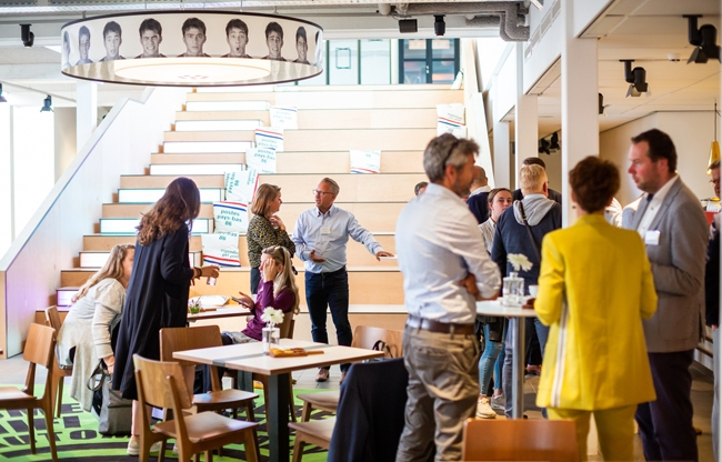 COMM gaat verder als Beeld en Geluid Den Haag