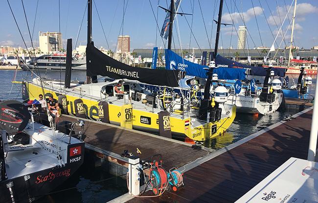 Crew Faber Audiovisuals thuis na 9 maanden Volvo Ocean Race