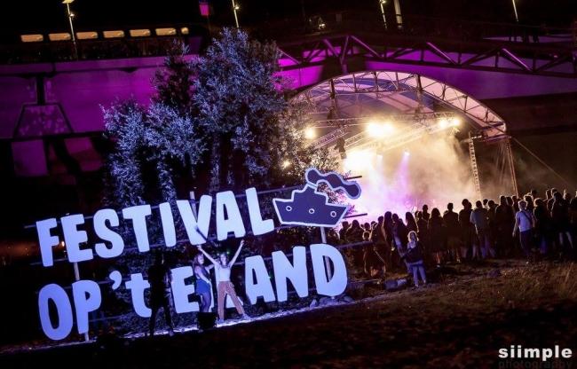 Organisatie Festival op 't Eiland Vierdaagse Nijmegen