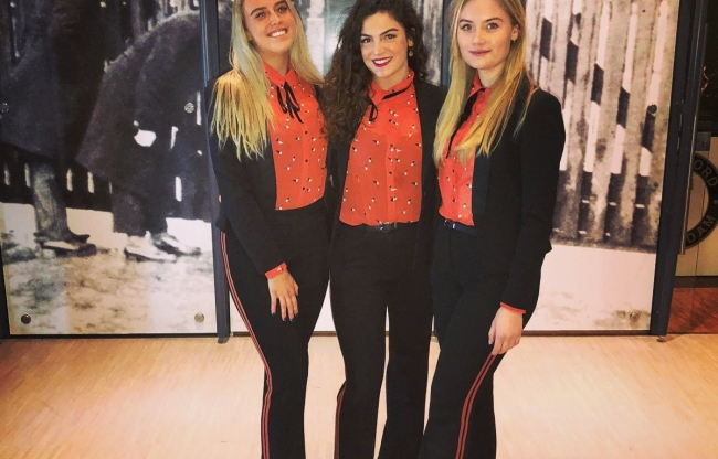 Goodday Hostesses at work bij Feijenoord