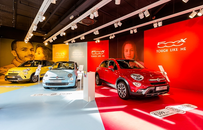 Bax Projects - Fiat pop-up store