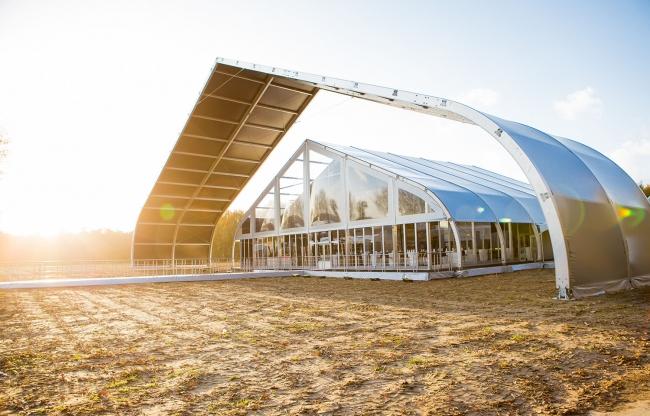Veldeman tentstructuren - TFS bedrijfsfeest