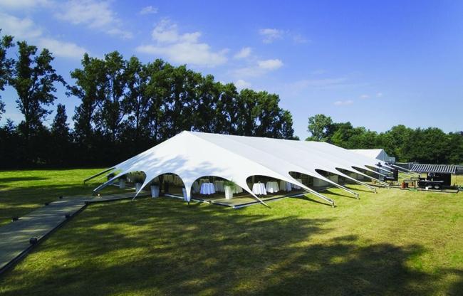 Veldeman tentstructuren - Mexico spinvorm