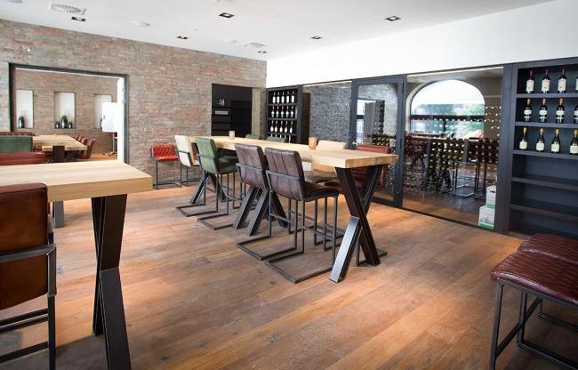 Wijnlokaal 2 Wijnproeverijen Presentaties Workshops Vergaderingen 20 personen