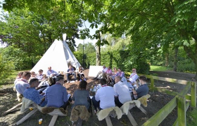 Industrieel, inspirerend en groen - dát is evenementenlocatie Veerkracht