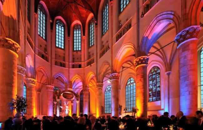Grote Kerk Den Haag - Hoogkoor - feest
