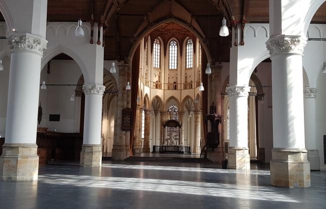 Binnenzijde Grote kerk
