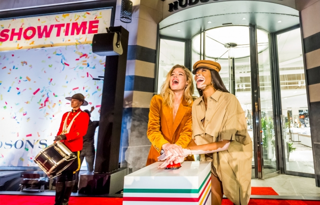 Hudson's Bay grand opening