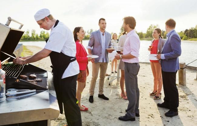 BBQ op het strand