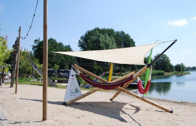 Hangout op het strand