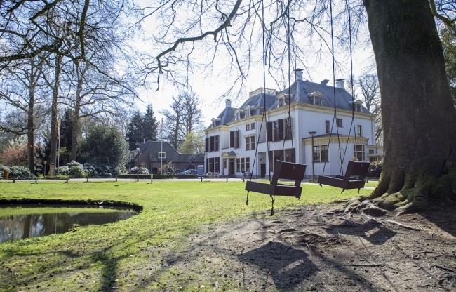 Het landhuis op Landgoed de Horst