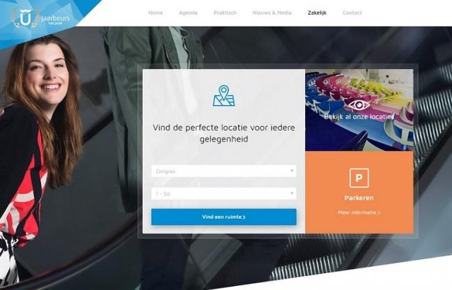 Online gespot: nieuwe website Jaarbeurs