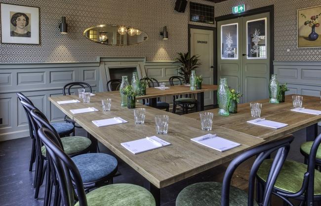 De Spiegelkamer van Restaurant KEES eten & drinken